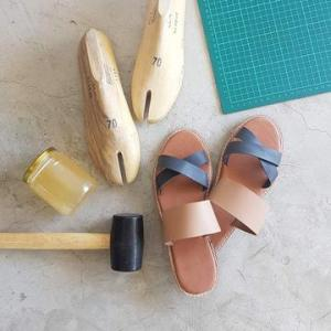 Sandal making